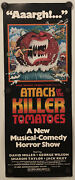 Attack Of The Killer Tomatoes Original Insert Movie Poster - 1978