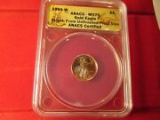 Ms 70 1999 W Gold Eagle Struck From Unfinished Proof Dies