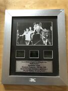 Busby Babes Rare Film Cells 1968 European Champions