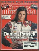 Sports Illustrated June 6 2005 Danica Patrick On The Cover Makes Indy History