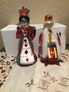"""Christopher Radko Italian 1997 """"royal Games"""" King And Queen Made In Poland"""