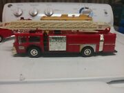 1986 Hess Fire Truck Bank Edition Untested
