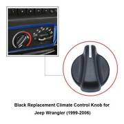 For Jeep Wrangler Tj 1999-2006 Heater Climate Control Switch Panel Buttons Knobs