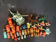 Huge 40+ Piece Lot Disney Pixar Cars And Planes Fire Rescue Airplanes Toys