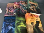 Harry Potter Complete Book Set 1-7 By J. K. Rowling All Hardcover Young Adult