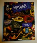 Bepuzzled Impossibles Jigsaw Puzzle Stroke Of Luck 750 +5 Piece Borderless 1997