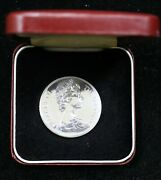 1973 St. Helena Tercentenary East India Co 25 Pence .925 Sterling Silver - 06053