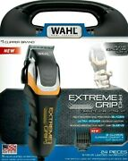 Wahl - Extreme Grip Pro Hair Cliper Model79465 - Black/silver/yellow
