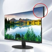 24 Business Computer Monitor 1080p 75hz With Hdmi Vga Build-in Speakers Black
