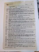 Beany Cecil Time For Beany Puppet Show Script Bob Clampett Walker Edmiston