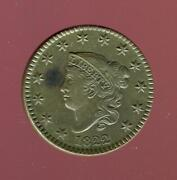 1822 Coronet Head Large Cent | Brilliant Uncirculated | Cp2756