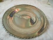 Vintage Towle Sterling Round Tray Silver Flutes 143 10 Mm