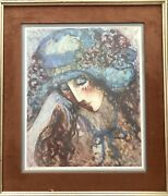 Make Offershuge Barbara A Woodandrsquos Art. Signed Limited Edition 577/875 Print