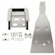 Full Chassis Glide And Swing Arm Skid Plate Guard Combo For Suzuki Ltz400 Z400 Kfx