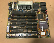 A486sx/dx Motherboard W/ Cpu+ Memory, Amibios 486dx Isa Bios