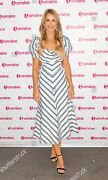 Alice Mccall Striped Cut Out Midi Dress As Seen On Vogue Williams