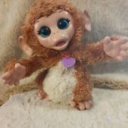 Fur Real Friends Baby Cuddles Monkey My Giggly Monkey 8 Tall Hasbro