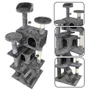 53 Cat Tree Tower Activity Center Large Playing House Condo For Rest Sturdy