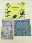 Three Books From The Fantod Press By Edward Gorey - 1966 - 1st Ed. - Illustrated