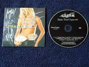 Lynam - White Trash Superstar Cd 2010 New Ocean Signed By The Band Rare Nm