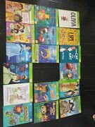 Lot Of 17 Leapfrog Tag Reading System Interactive Children Books