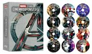 All 23 Marvel Studios Cinematic Universe Movie Collection 12 Dvd Avengers Movies