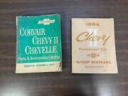 1960-1964 Corvair Chevelle Nova Chevy Ii Parts And Accessories And Catalog And Manual