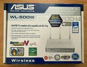 Asus Wl-500w Wireless Super Speed N Multi Functional Wireless Router Usb Plug