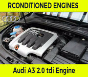 Audi A3 2.0 Tdi Cffb 2008 Engine Supply And Fit With Warranty