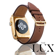 24k Gold Plated Series 6 Hermes Apple Watch Single Tour Fauve 44mm Usb-c Charger