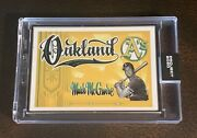 2020 Topps Project 2020 111 Mark Mcgwire Artist Proof 2/20 - By Mister Cartoon