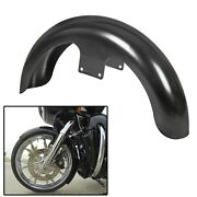 21 Wrap Front Fender Steel For Harley Touring Electra Street Road Glide Baggers
