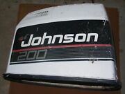 Dk4a8177 1989 Johnson 200 Hp V6 Engine Cover Assembly Pn 0432457 Fits 1989-1990