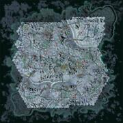 Incomplete Map Of Snowman Spawn Locations On Esamir Poster 12x12 24x24 32x32