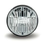 Trux Accessories Tled-h77 7 Round Led Headlight Combo - 580 Lumens 4 Diodes