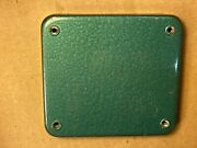 Vintage Altec Green Crossover Or Transformer Cover Only Just The Plate 4x4.25