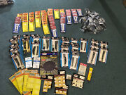 150+ Atlas N Scale Gauge Line Nickel Silver Tracks Railroad Train Huge Lot Model