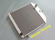High Flow Aluminum Radiator For Ford Deluxe W/chevy 350 V8 Swap At 1939-1941
