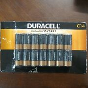 Duracell Coppertop C Battery 14-pack March 2029 New Open Box
