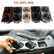 Front Center Console Drink Cup Holder Storing Coin Box For Car E46 3series 99-06