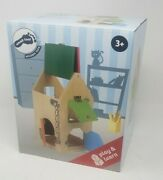 Small Foot Wooden Toys - Big House Of Locks Playset - Ships Today