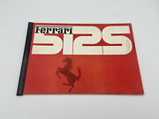 Ferrari 512s 1970 Instructions Manual | Owners Manual | Pouch Book Number 36/70