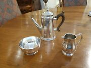Fine Sterling Silver Coco Coffee Set By And Company Rare Made In England
