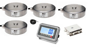 25t Tank Weighing Kit With St Steelload Cells And St Steel Indicator-25000kg20kg