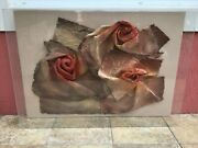Large Vintage Greg Copeland Signed Wall Art Sculpture 3d Abstract