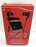 Plantronics Backbeat Go 2 Wireless Bluetooth Stereo Earbuds Black+charging Case