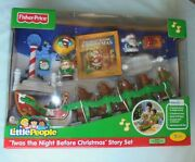 Fisher Price Little People Twas The Night Before Christmas Story Set Reindeers