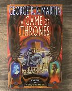 A Song Of Ice And Fire - Game Of Thrones - First Print - Uk 1st - Hardcover