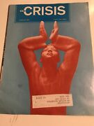 1973 Civil Rights Naacp Crisis Magazine Owned By Civil Rights Leader Y796