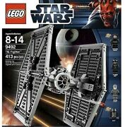 Lego Star Wars Imperial Tie Fighter 9492 Pilot, Death Star Trooper -new Sealed